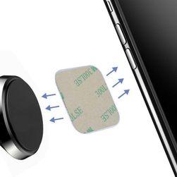 Набор сменных металлических наклеек для магнитного держателя мобильного телефона Kian
