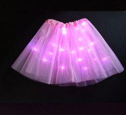 Dekliška LED obleka Melanie velikost 1