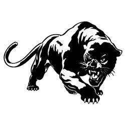 Nalepnica divljeg pantera - savršena za kola