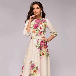 Женское платье с длинными рукавами Kvetonella