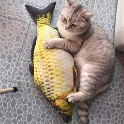 Игрушка для кошек - рыбка