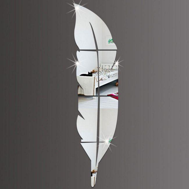 Nalepnica sa efektom ogledala - Pero 1