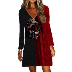 Ženska haljina dugih rukava BR_CZFZ00682
