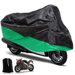 Velká plachta na motocykl