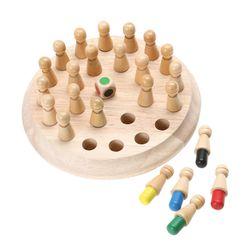 Drvena edukativna igračka sa figuricama