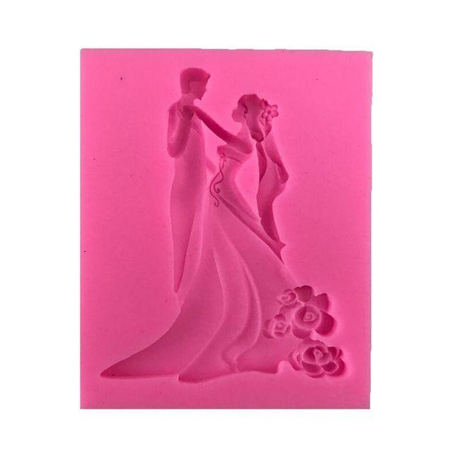 Silikonová forma - muž a žena 1