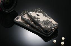 Etui na telefon komórkowy z motywem kwiatów - iPhone 7, 7+, 6, 6+, 6s, 5, 5s, SE