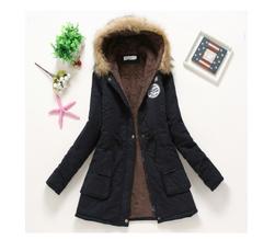 Dámská zimní bunda Jane - Černá-velikost č. M