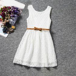 Dívčí šaty s širokými ramínky - 6 barev