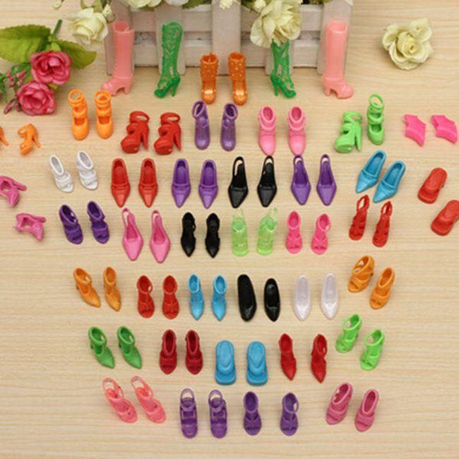 Moderne cipele sa potpeticama za lutke - 40 parova 1