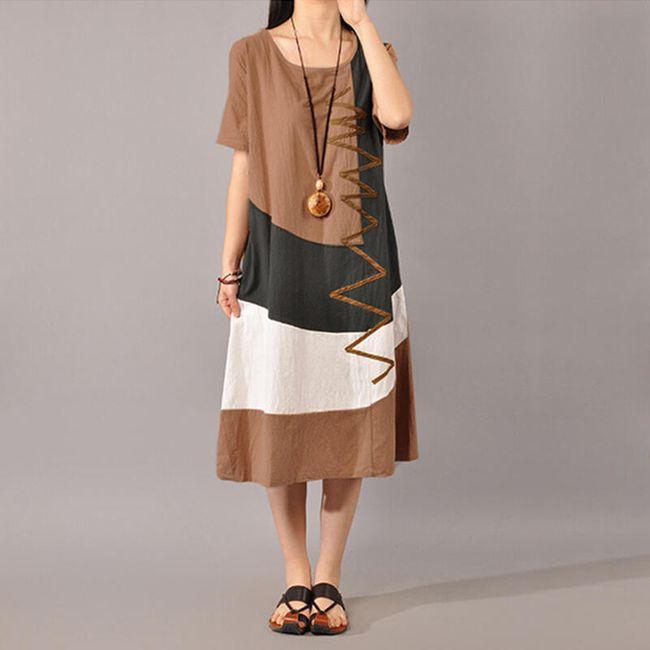 Damska długa sukienka 1