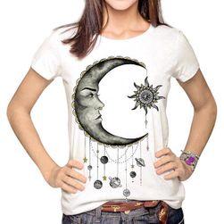 Dámské tričko s kresleným potiskem - 6 variant