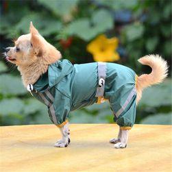 Voděodolná psí kombinéza