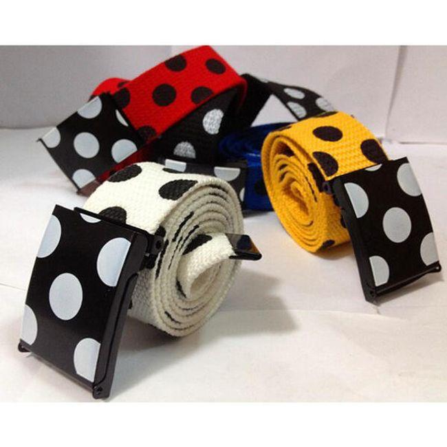 Originální pásek s tečkami - 5 barev 1