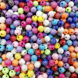 Набор декоративных бусин- 100 шт./13 расцветок