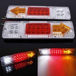 12 V 19 LED koncové světlo - 2 kusy