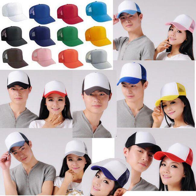 Unisex kšiltovka v 16 barevných variantách 1