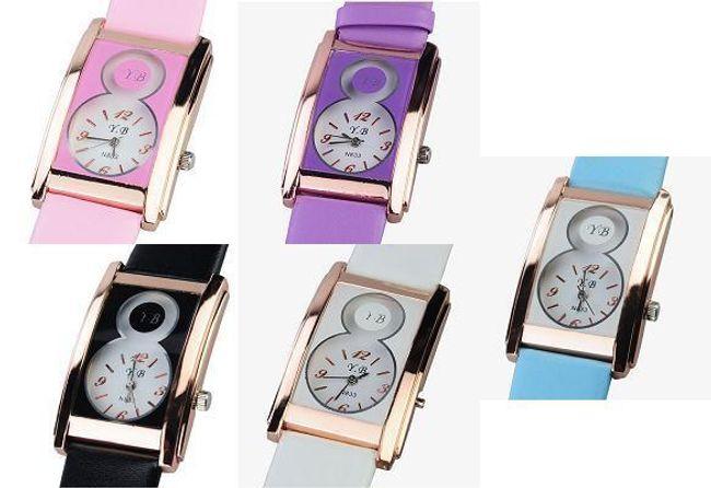 Dámské náramkové hodinky - na výběr z pěti barev 1