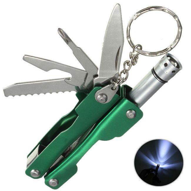 Összecsukható kés LED-es lámpával 1