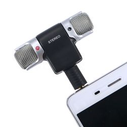 Microfon stereo universal pentru smartphone