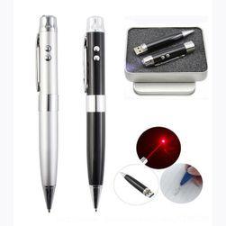 Długopis z laserem i pendrivem