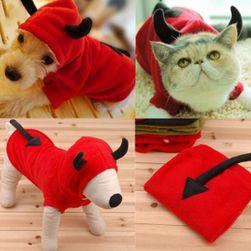 Čertík - kostým pro psy a kočky