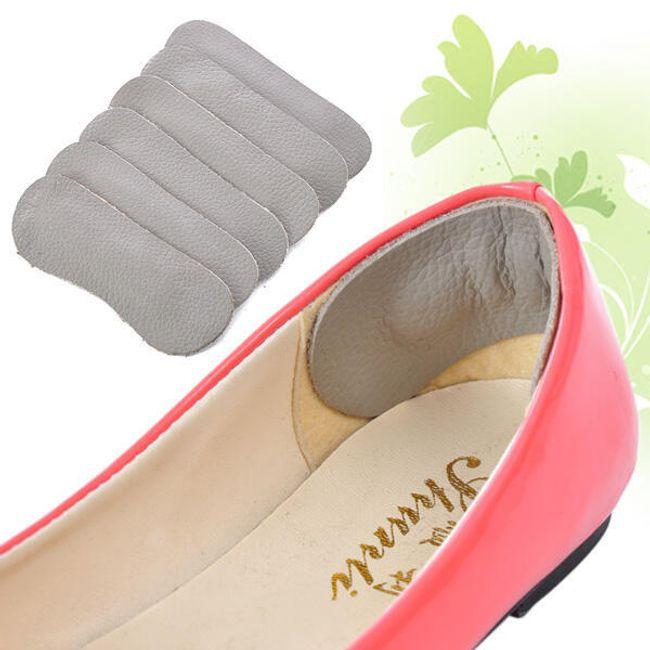 Skórzane półwkładki do butów za piętę 1