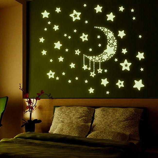Svetleće nalepnice - noćno nebo 1