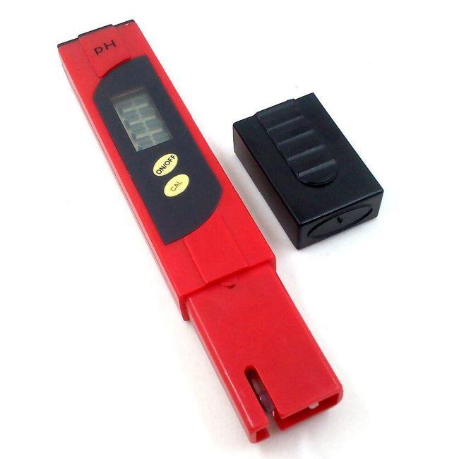 Hordozható digitális pH-mérő 1