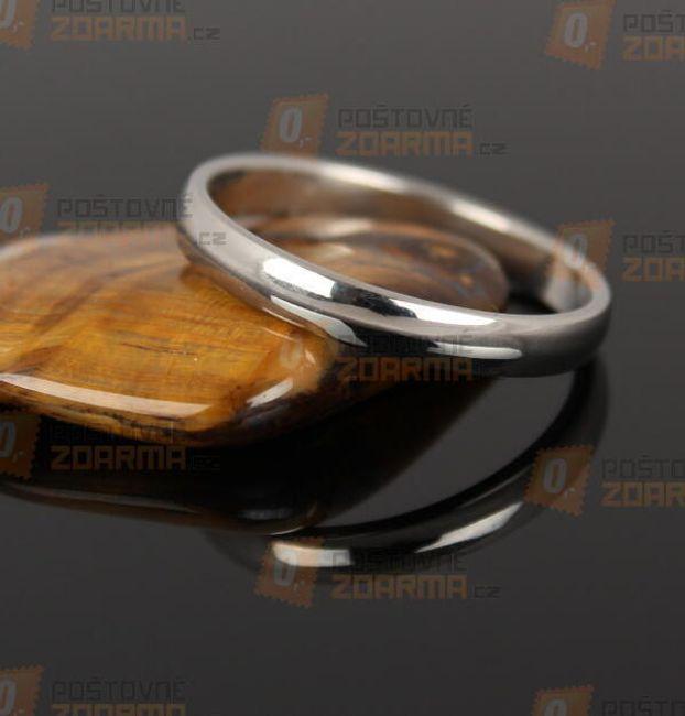 Rozsdamentes acél gyűrű 1