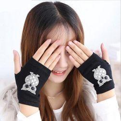 Damskie rękawiczki bez palców DRP58