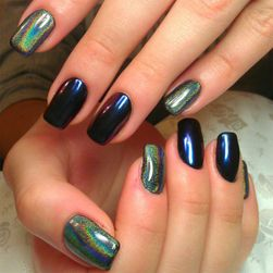 Holografski sjaj za nokte