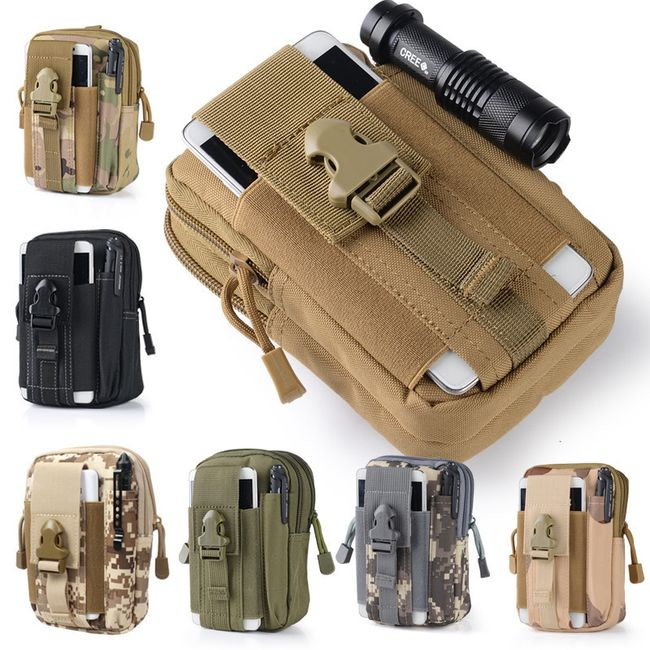 Taktikai kültéri táska smartphone 1