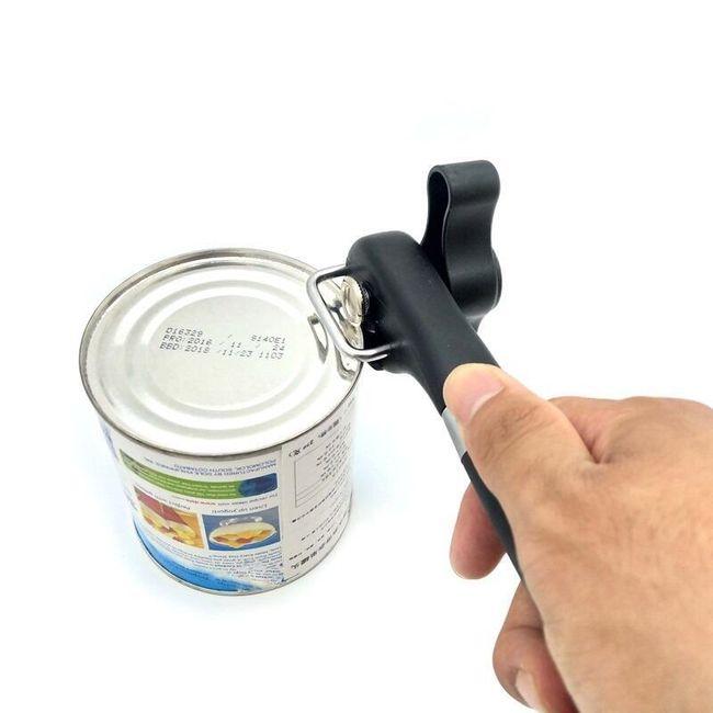 Otvírák na konzervy - černý 1