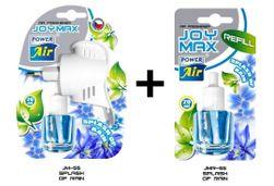 JOY MAX légfrissítő aljzatok 1 + 1 - Eső fröccsenése