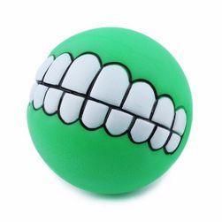 Piłka dla psów z motywem zębów