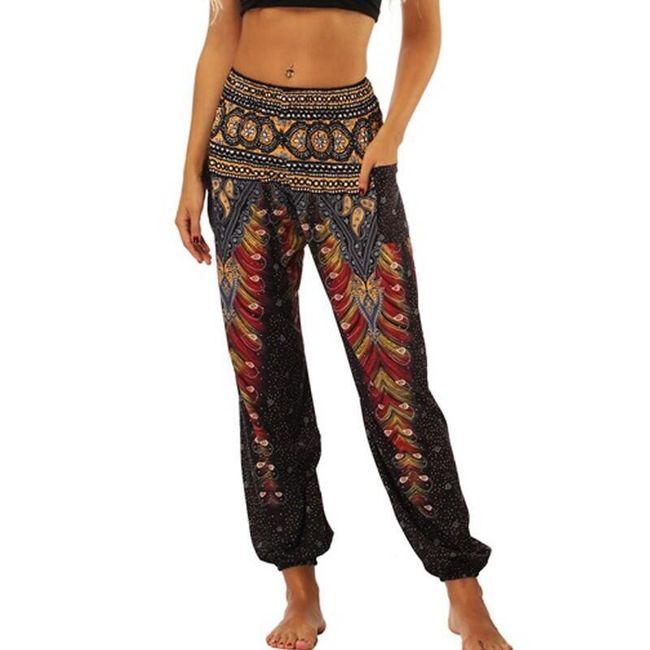 Ženske harem pantalone Frida - 10 varijanti 1