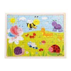 Fa puzzle gyerekeknek - 8 változat