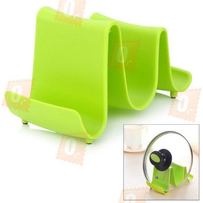 Designový držák na pokličky - 3 barvy 1