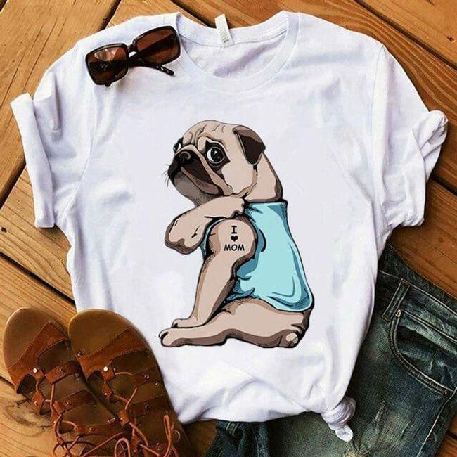 Damska koszulka Pugg 1