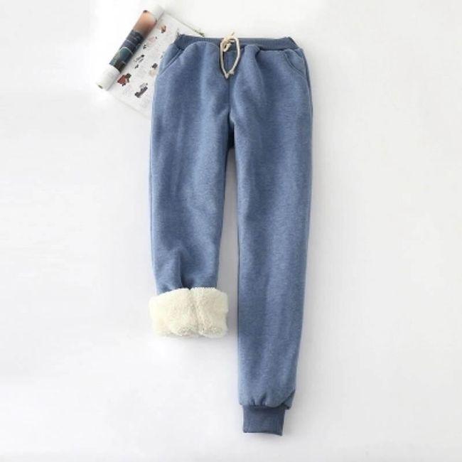 Damskie spodnie dresowe WT107 1