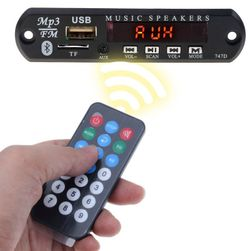 Bluetooth USB AUX MP3 WMA