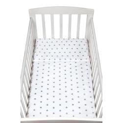 Dvodelna posteljnina 90/120 cm Siva RW_povleceni-nbbob005-2dilne
