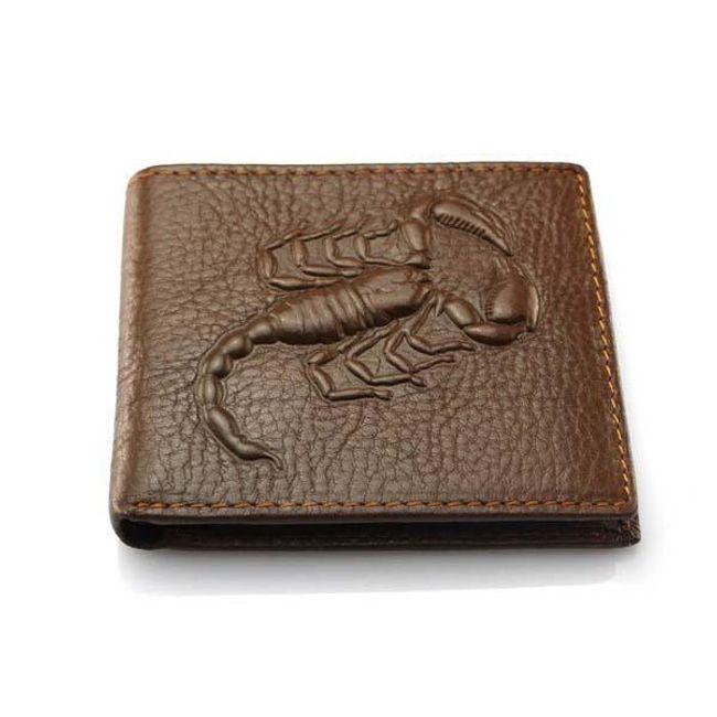 Skorpió motívumú férfi pénztárca 1