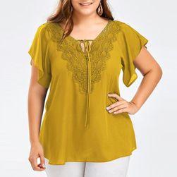 T-shirt damski w dużych rozmiarach Plea