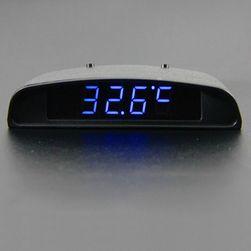 Külső műszerfal idő, feszültség és hőmérséklet kijelző