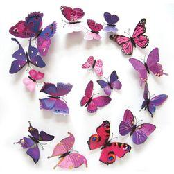 Набор 3D бабочек Asro