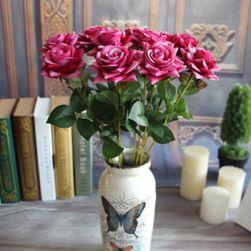 Sztuczna róża 50 cm - 5 kolorów