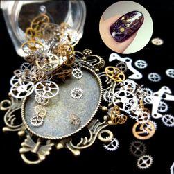 Steampunk komponente za dekoraciju noktiju