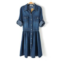 Džínové šaty Milianna